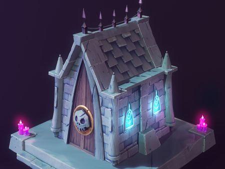 Stylized Crypt