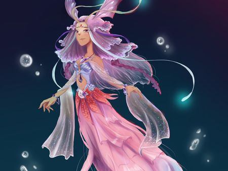 Character design (Lady of the Lake)