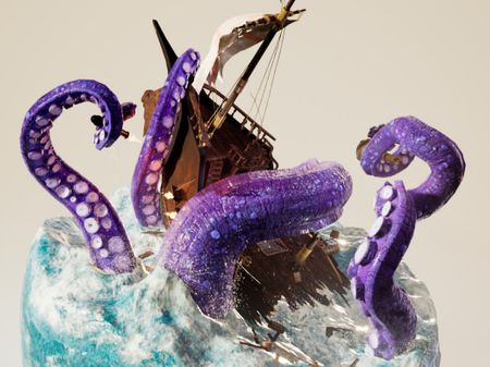 HUNGRY HUNGRY KRAKEN