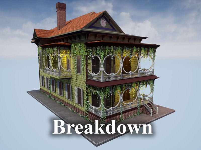 Single Material Building Breakdown