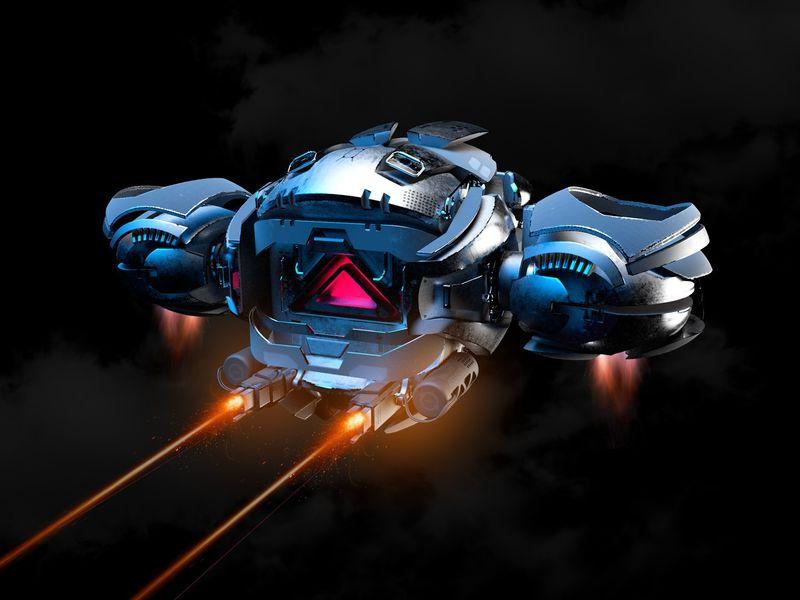Full Auto Attack Drone