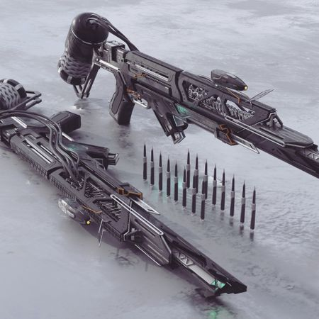 Pressurized CO2 Rifle