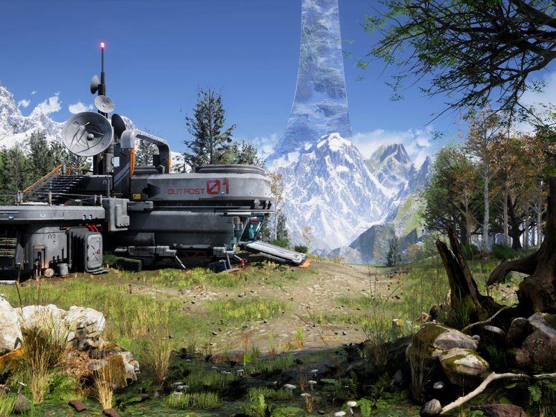 UNSC Outpost on Instillation 01
