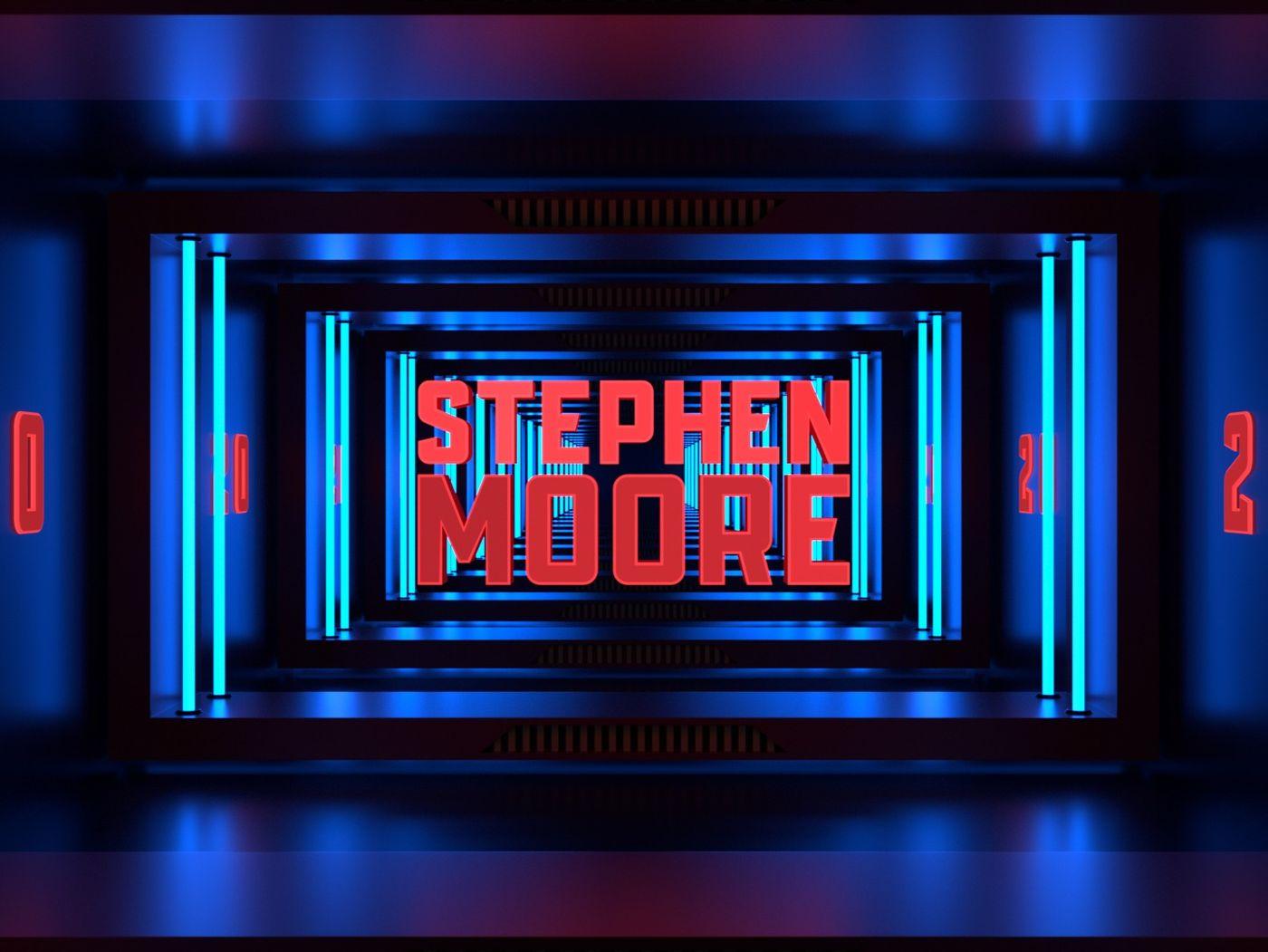 StephenMooreMotion 2020 - 3D Motion Graphics