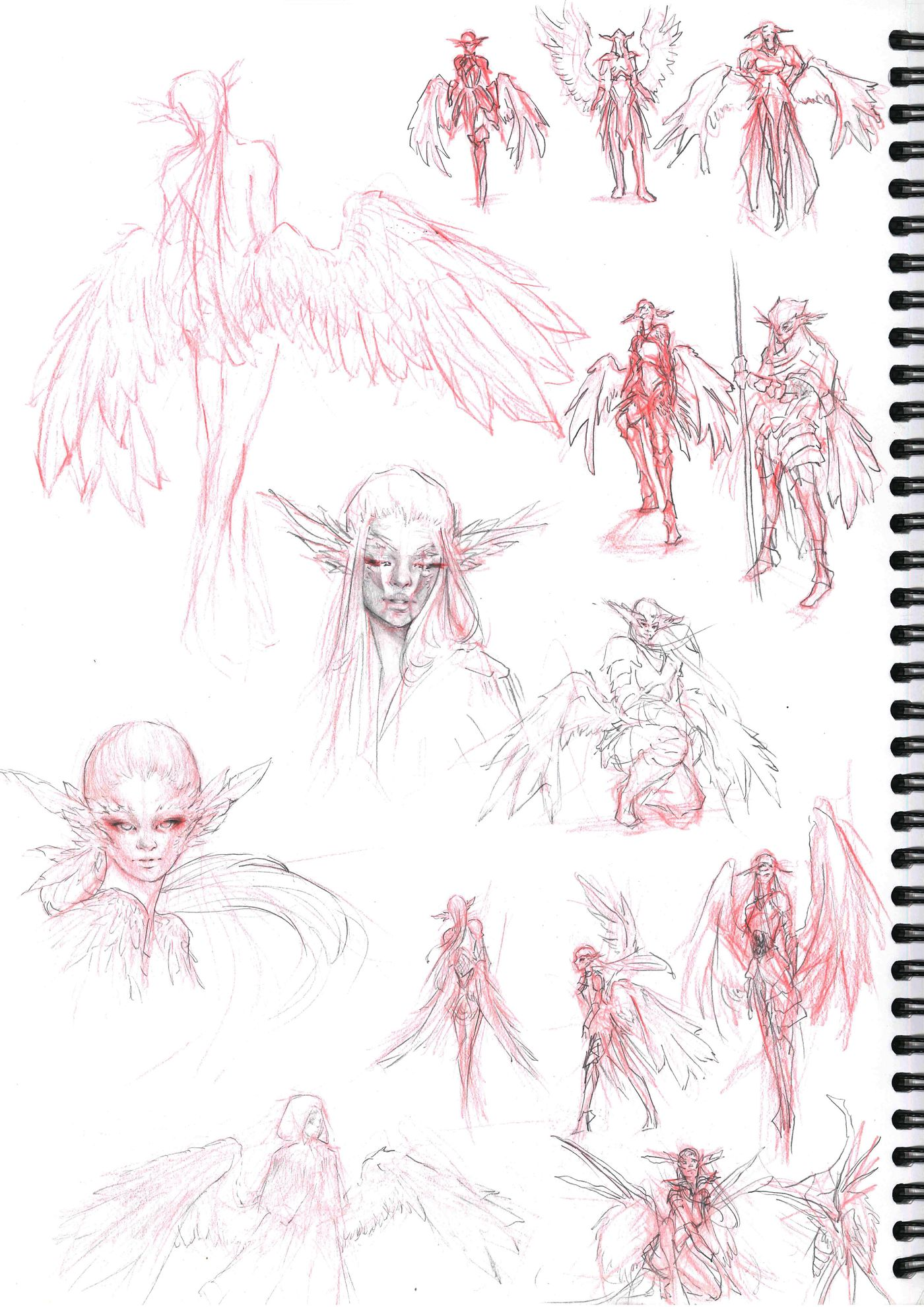 Sketchbook Page 11 Stephennjoto