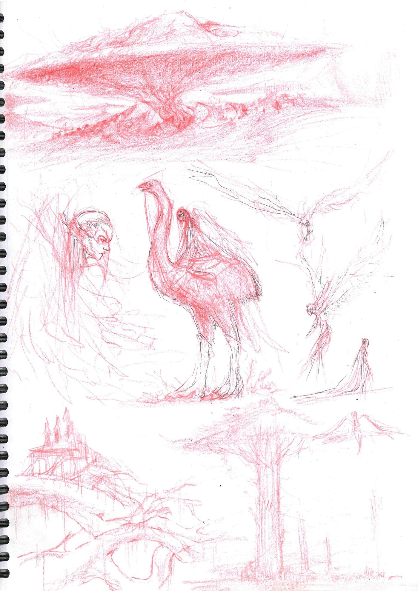 Sketchbook Page 5 Stephennjoto
