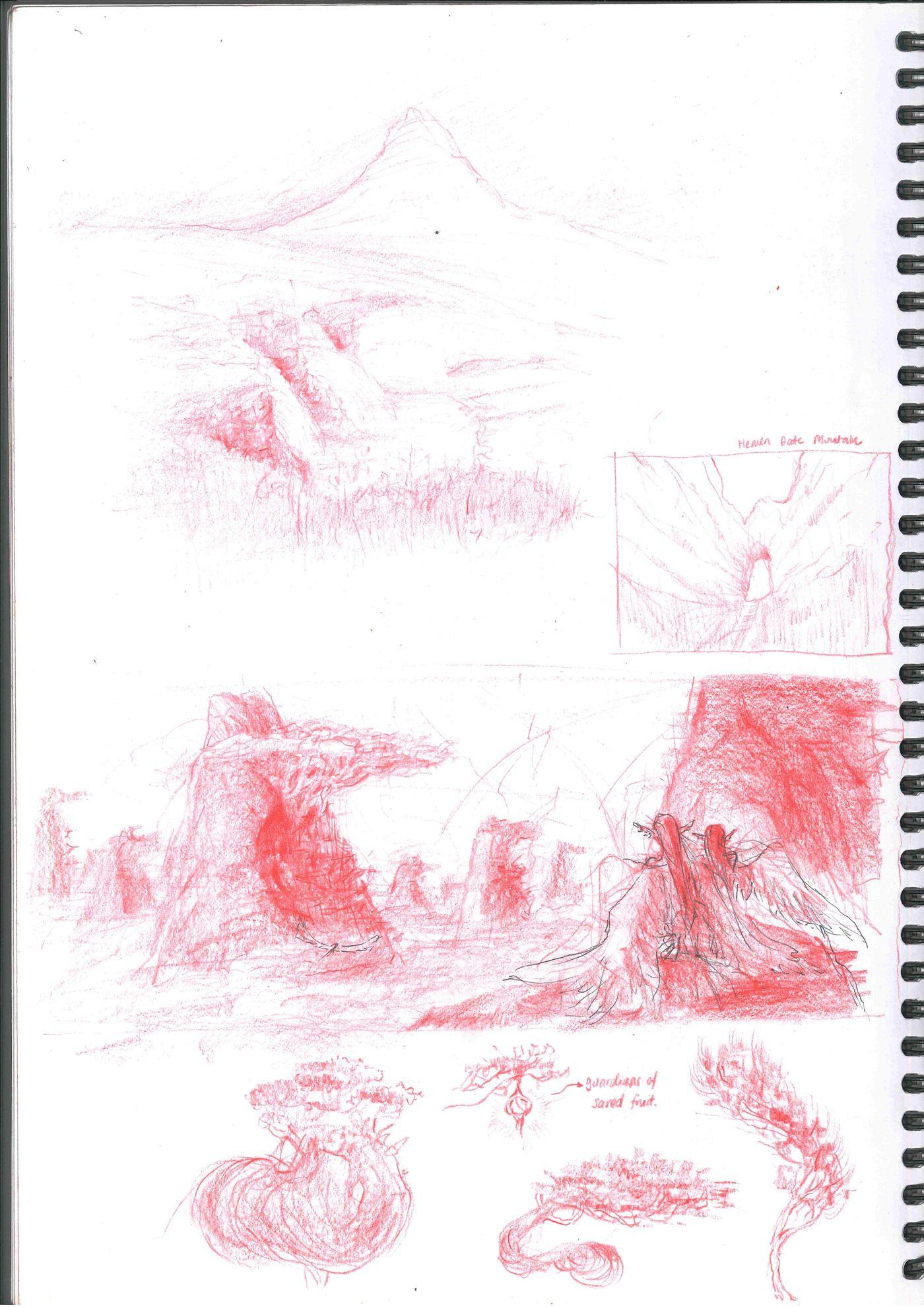 Sketchbook Page 6 Stephennjoto