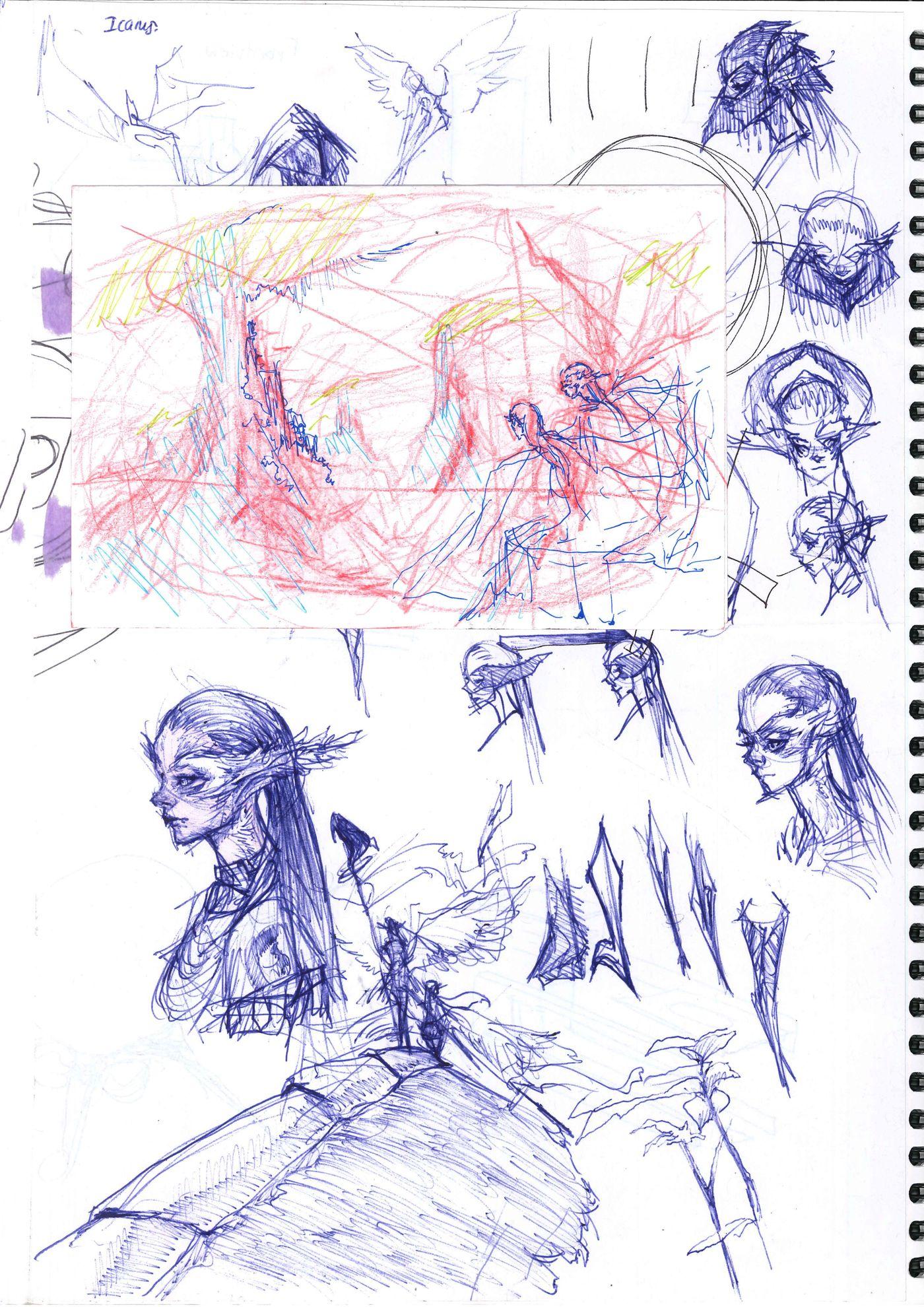 Sketchbook Page 8 Stephennjoto