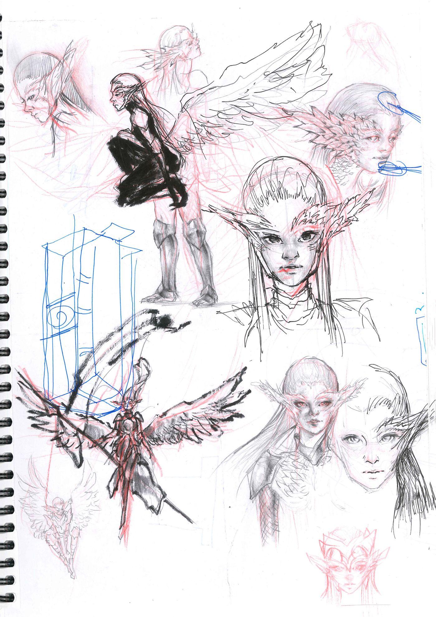 Sketchbook Page 9 Stephennjoto