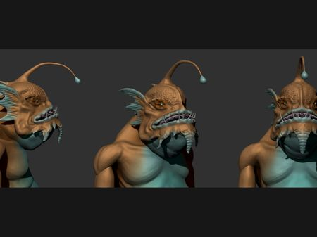 3D Portfolio - 3D modeling & Creature Design