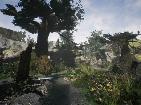 Forest Creek - Level Design with Unreal Engine