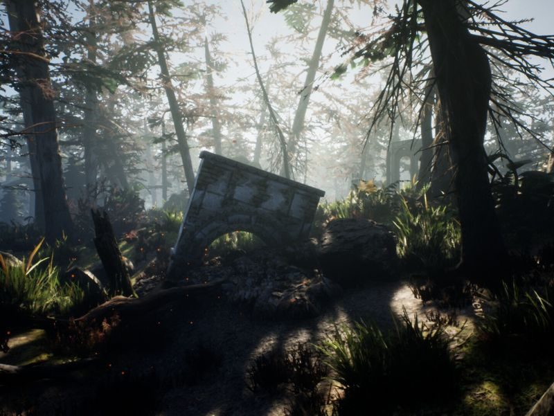 Remnants of Glory Level Design with Unreal Engine