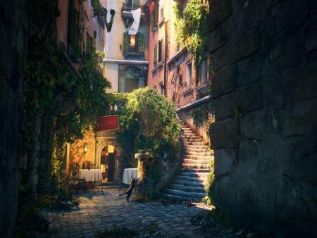 Cozy Italian Alley