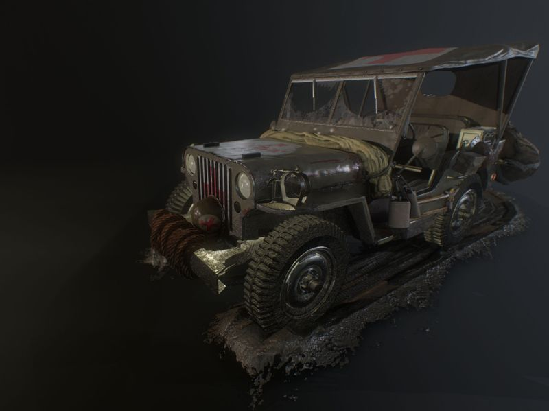 Willys WWII Jeep
