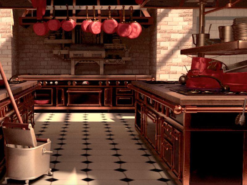Ratatootie (Recreation of a Scene from Ratatouille Movie)