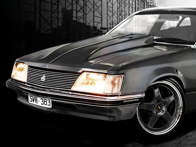 Smith's Holden VH Commodore Concept