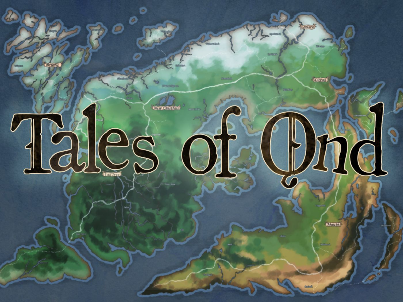 Tales of Ǫnd - A Tabletop to Action RPG Game Design: First Draft