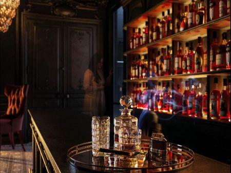 New Baroque Bar Scene ( Vignette)
