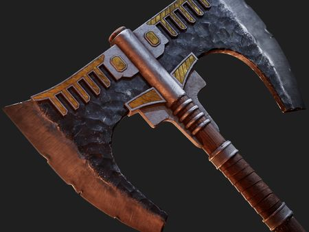Barbarian Battle Axe