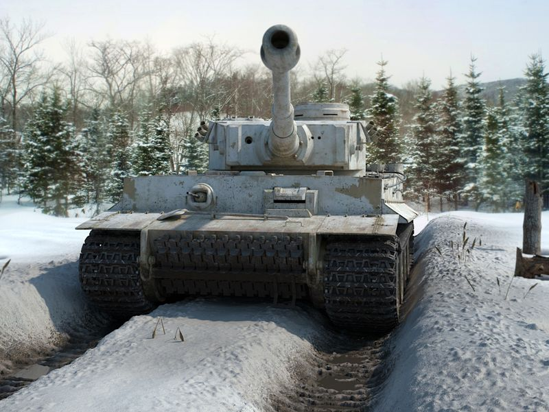 "Panzerkampfwagen VI ""Tiger"""