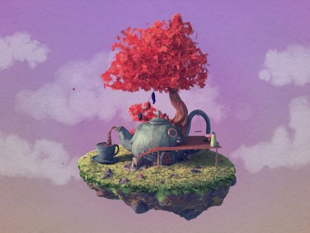 TINY HOUSE ~ Teapot House