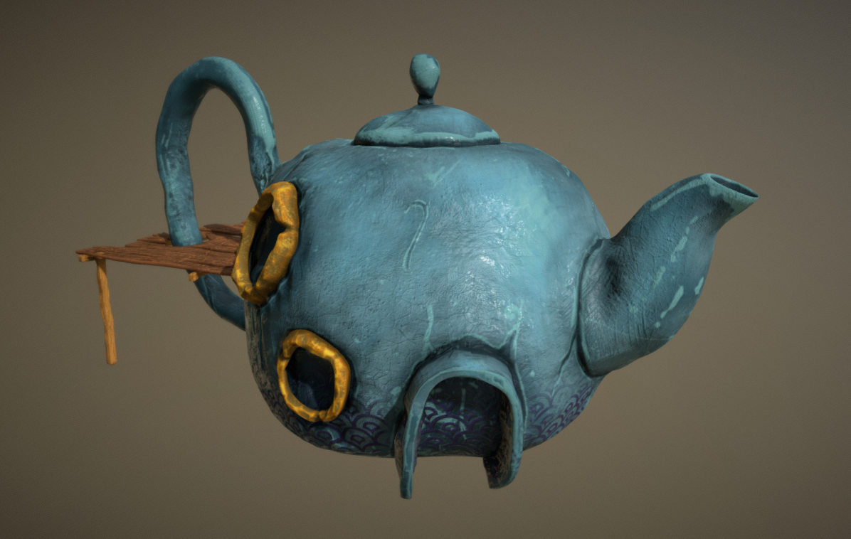 Teapot 01 Sveut