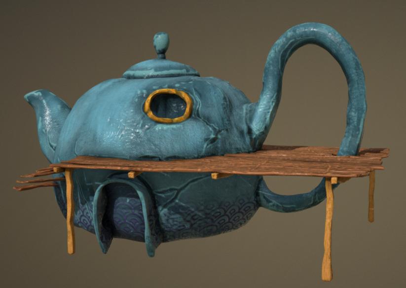 Teapot 03 Sveut