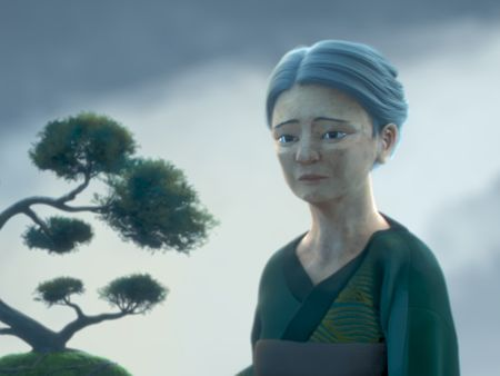 MIYUKI - Graduation Short Film | Miko modeling, hair and cloth setup and simulation