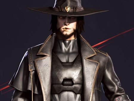 Real time 3D Character (Mccree + Reaper)