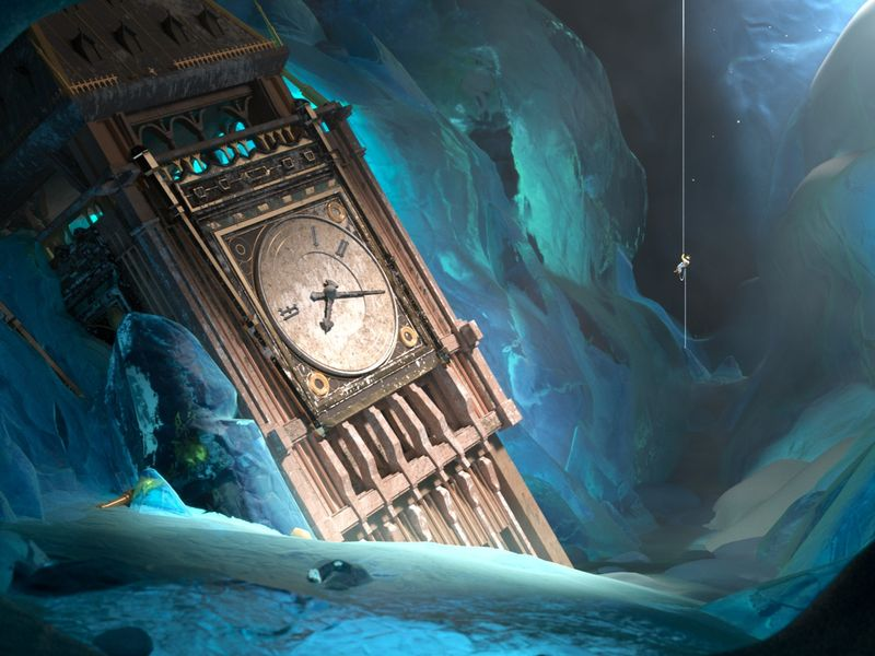 The frozen time