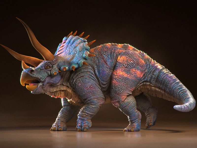 Triceratops sculpt