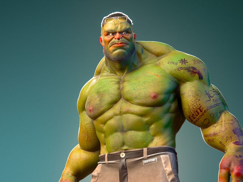 The Hulk !
