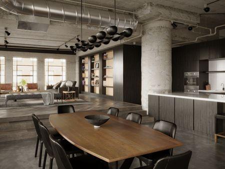 LA's Art Disctrict Loft - Interior Design