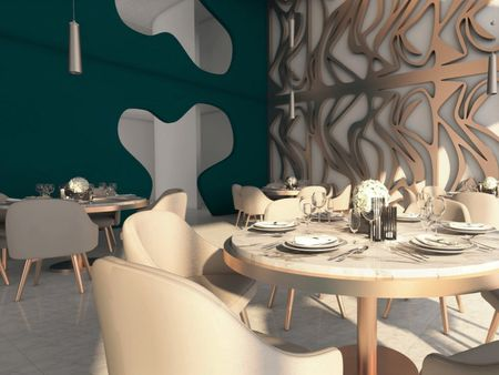 Alain Ducasse Restaurant Design