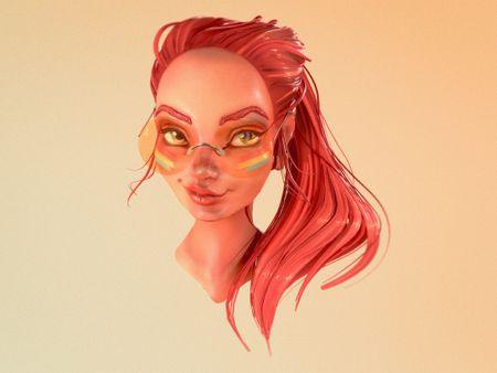 Loish Portrait