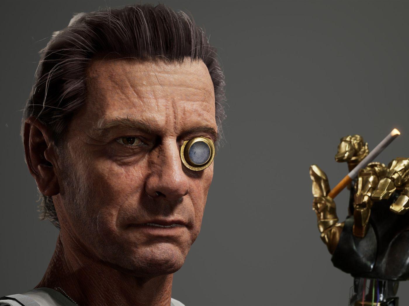 Real-time character art portfolio