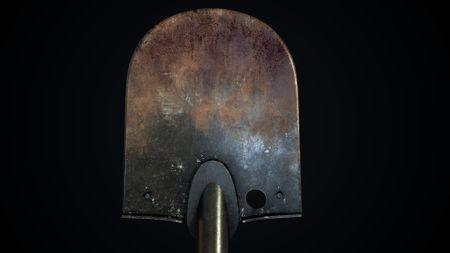 WWII shovel