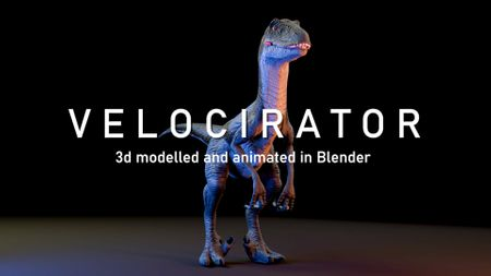 Velociraptor - Blender 2.8 (JUL 2020)