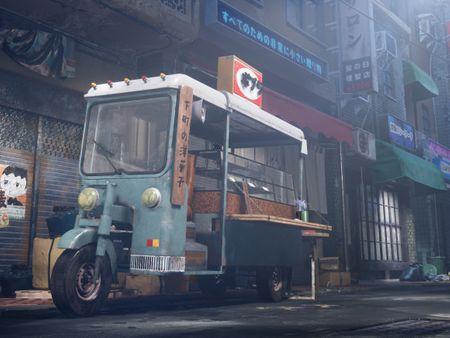 Mochi truck in Taiwan