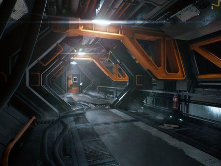 Site B Corridor