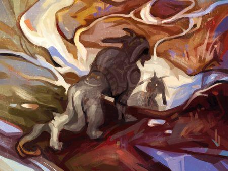 Concept Art - Slavic Myth Story