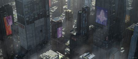 Sci-fi City - Banner for Pixel Life Stories