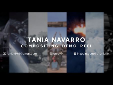 Tania Navarro Compositing Demo Reel 2021