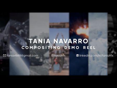 Tania Navarro Compositing Demo Reel 2021