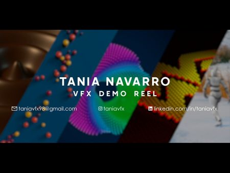 Tania Navarro VFX Demo Reel 2021