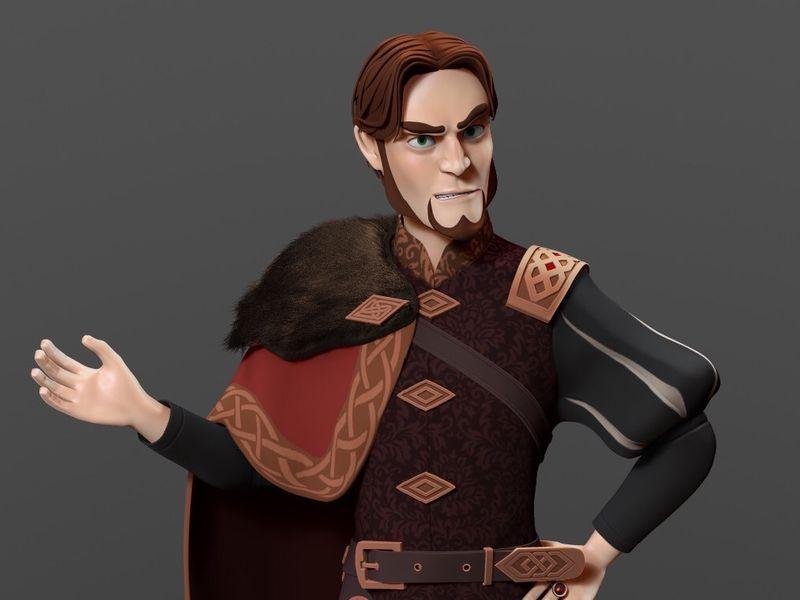 Prince John Sculpt