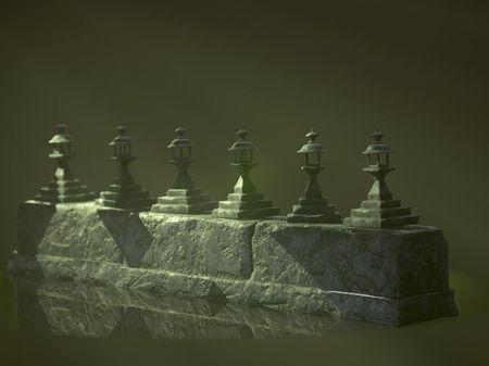 Lamp and Platform