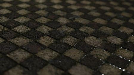 Dirty Tile mat