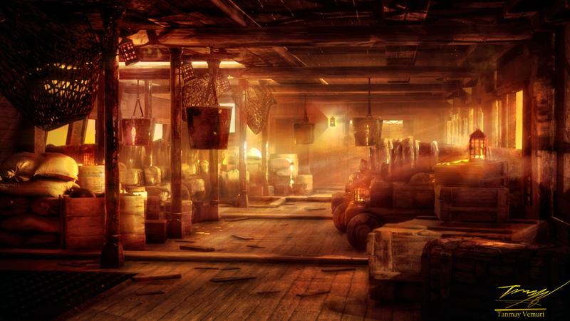 Pirate Ship(Evening)