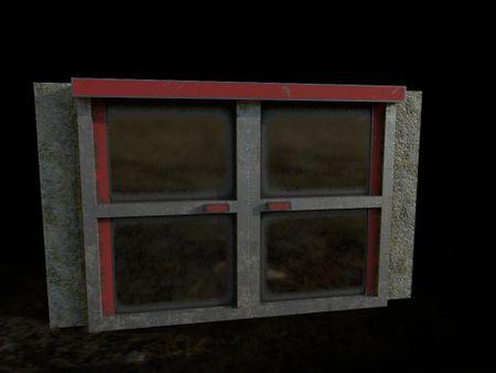 PBR game asset || Double door